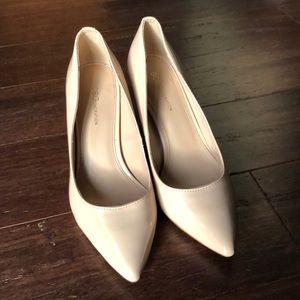 BCBG Nude Heels - Size 8